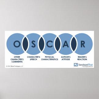 Poster Affiche de salle de classe d'OSCAR