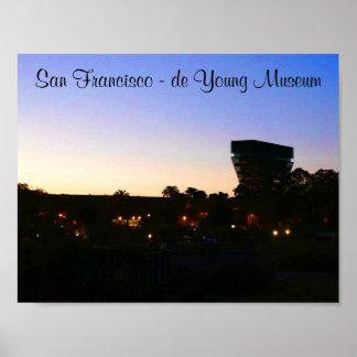 Poster Affiche de San Francisco de Young Museum #2-2