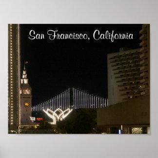 Poster Affiche de San Francisco Embarcadero #6