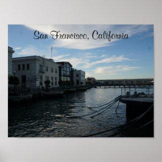 Poster Affiche de San Francisco Embarcadero #7-2