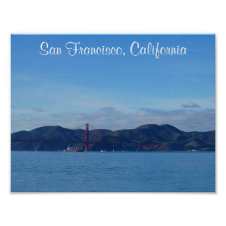 Poster Affiche de San Francisco golden gate bridge #3