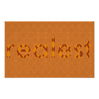 """Poster Affiche de SBC&Co. X Nolobotamus """"Realest"""""""