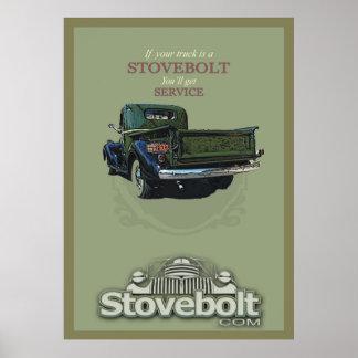 Poster Affiche de service de Stovebolt