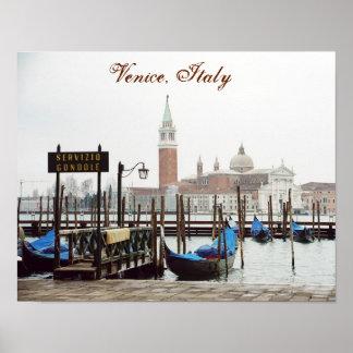 """Poster Affiche de """"Venise, Italie II"""""""