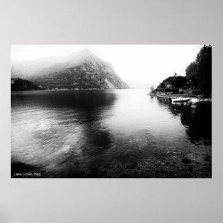 Poster Affiche de vue de Como de lac