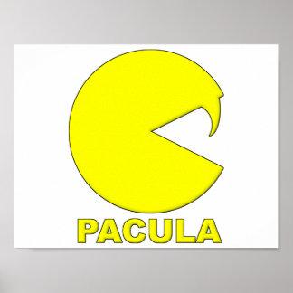 Poster Affiche drôle de Pacula