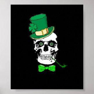 Poster Affiche du crâne de St Patrick
