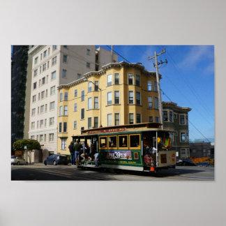 Poster Affiche du funiculaire #4 de San Francisco