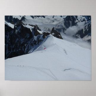 Poster Affiche française de Chamonix d'Alpes