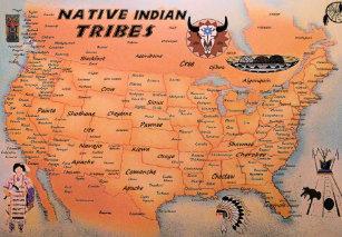 Tribu Indienne Carte.Posters Affiches Toiles Tribu Indienne Zazzle Fr