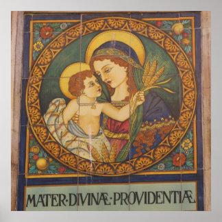 Poster Affiche--Italien Madonna