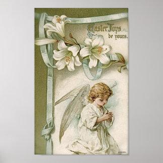Poster Affiche : Joies de Pâques