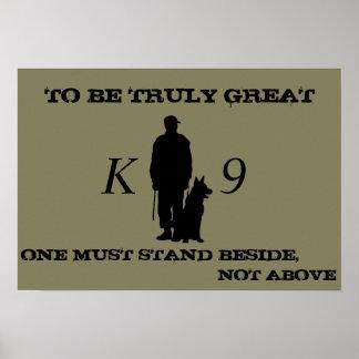 Poster Affiche K9