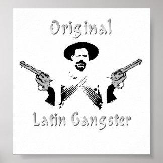 Poster Affiche latine originale de bandit