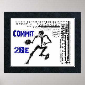 Poster Affiche (mate) du basket-ball #158