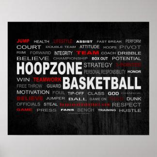 Poster Affiche (mate) du basket-ball #190