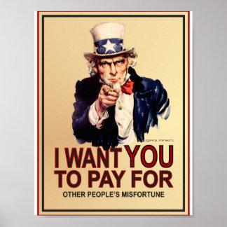 Poster Affiche patriotique