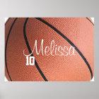 Poster Affiche personnalisée de basket-ball
