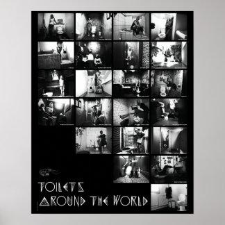 Poster Affiche Toilets - Crevettes trotteuses