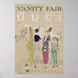 Poster Affiche vintage de Vanity Fair