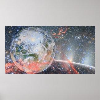 Poster Affiches de l'espace