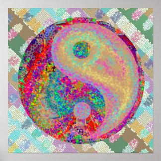 Poster Affiches FineArt de YIN YANG YinYang