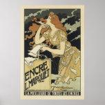 Poster Affiches françaises de Nouveau d'art - Encre L.Mar