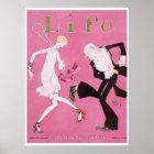 Poster Aileron 1926 de couverture de magazine de la vie