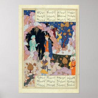Poster Alexandre rend visite à un ermite