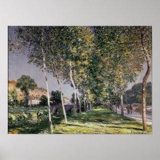 Poster Alfred Sisley   la promenade