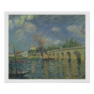Poster Alfred Sisley | le pont