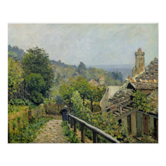 Poster Alfred Sisley | Louveciennes, les tailles à