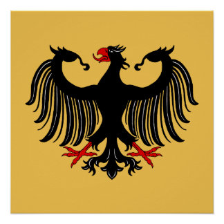 Poster Allemand Eagle