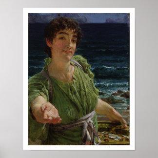 Poster Alma-Tadema | Una Carita, 1883