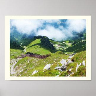 Poster Alpes autrichiens