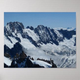 Poster Alpes français