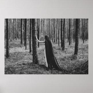 Poster Âme de l'affiche de forêt