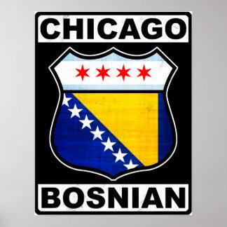 Poster Américain bosnien de Chicago