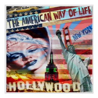 Poster American Way of Life
