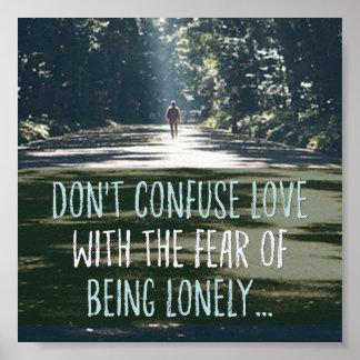 Poster Amour avec la crainte
