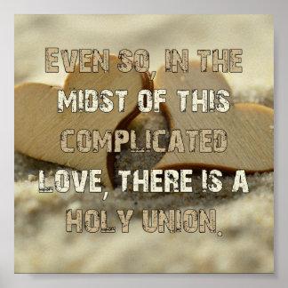 Poster Amour compliqué