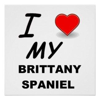 Poster amour de la Bretagne