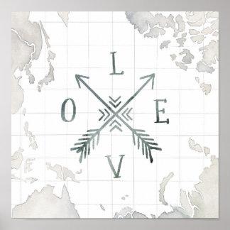 Poster Amour de l'aventure III   d'envie de voyager