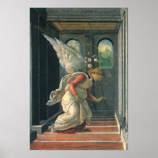 Poster Ange d'annonce par Sandro Botticelli