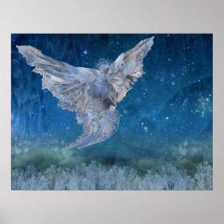 Poster Ange en cristal