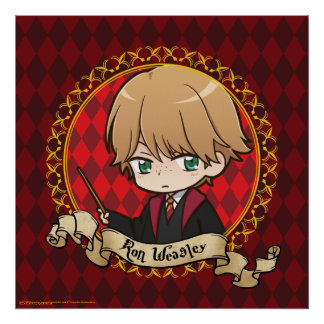 Poster Anime Ron Weasley