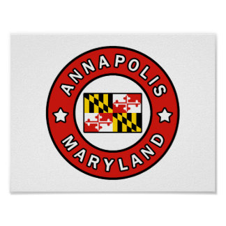 Poster Annapolis le Maryland