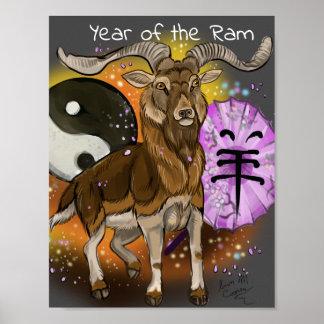 Poster Année chinoise de la RAM