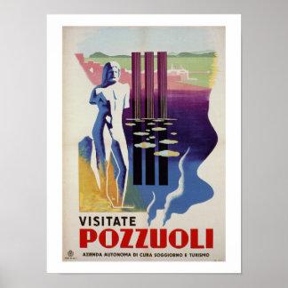 Poster Annonce romaine de voyage de l'Italie de ville du