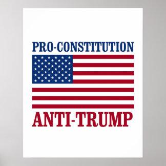 Poster Anti-Atout de Pro-Constitution - Anti-Atout -